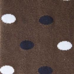 """Kaval Socks """"Dots"""" Braun"""