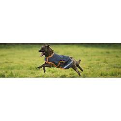 Horseware Amigo Regen-Hundedecke Grey-Orange