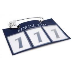 Kingsland Startnummer Classic 3 Reihig