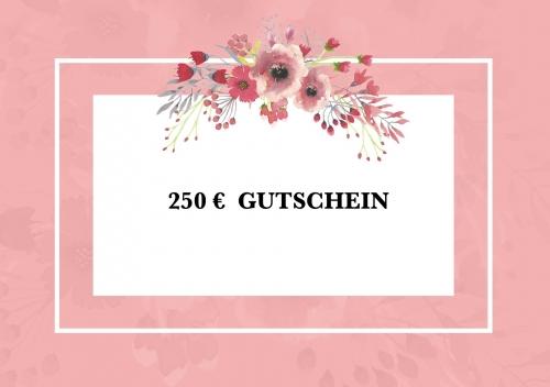 Gutschein 250,00 €