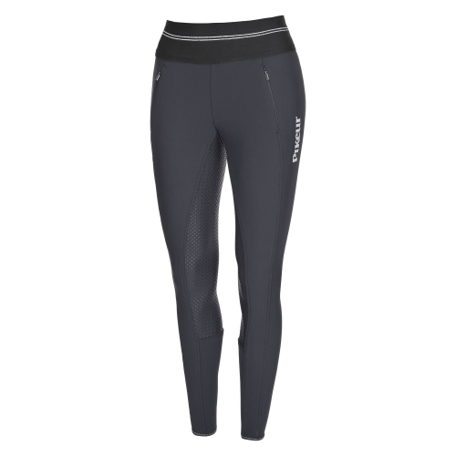 Pikeur Gia Grip Athleisure Softshell Reitleggings Grau