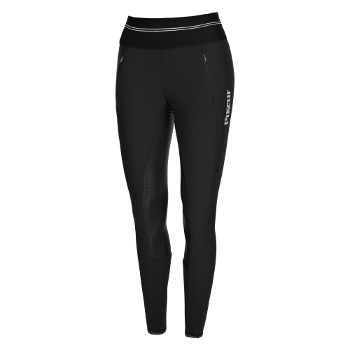 Pikeur Gia Grip Athleisure Softshell Reitleggings Schwarz