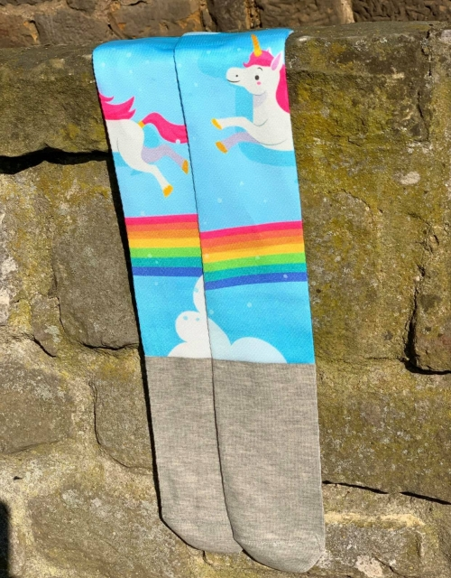 Socken Happy Print Unicorn