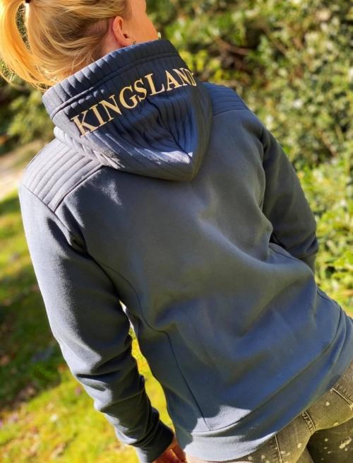 Kingsland Canalosa Ladies Sweat Jacket Midnight Navy