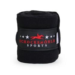 Fleecebandagen Schockemöhle Sports Style Black