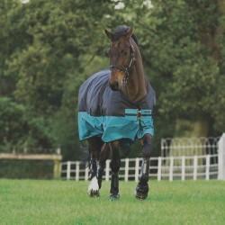 Horseware Mio Turnout Schwarz/Petrol 0 Gr.