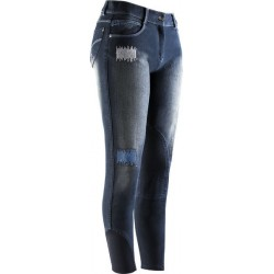 Equi Theme Jeans Fleur Reithose