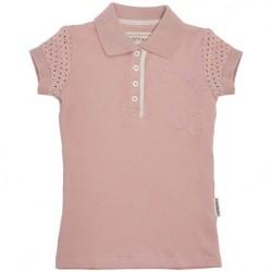 Horseware Girls Pique Polo Pink Bloss